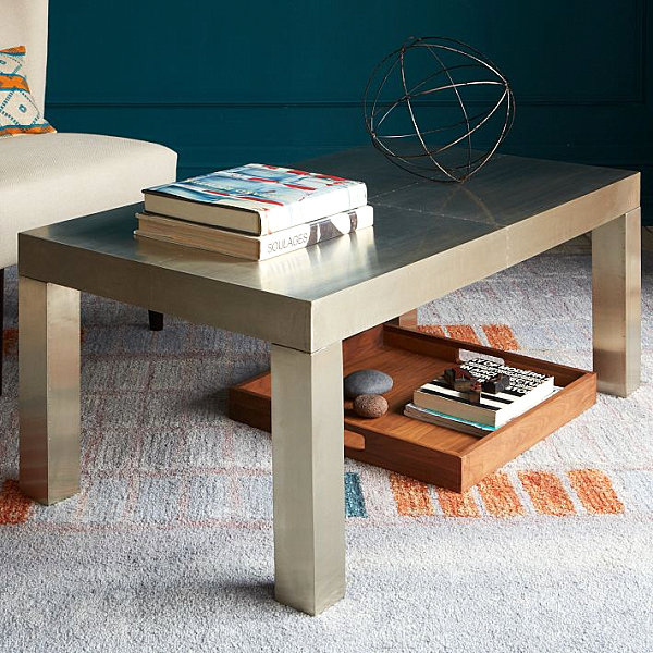 French Connection Gunmetal Coffee Table: World Of Beauty And Design