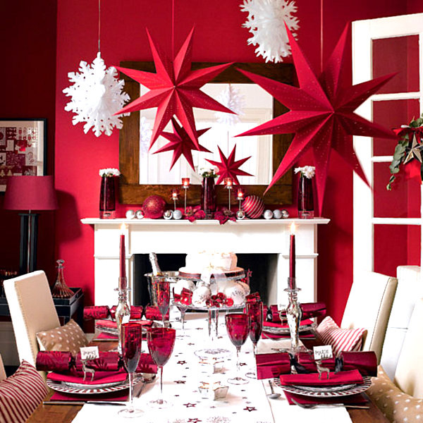 a modern look can also be evoked by unexpected colors such as rich jewel tones that lend themselves to an opulent look dont forget to incorporate - Christmas Stage Decorations